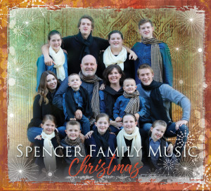 Spencer Family Christmas album pic