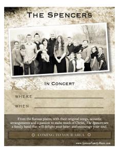 spencer-family-music-concert-poster-antique-8-5x11